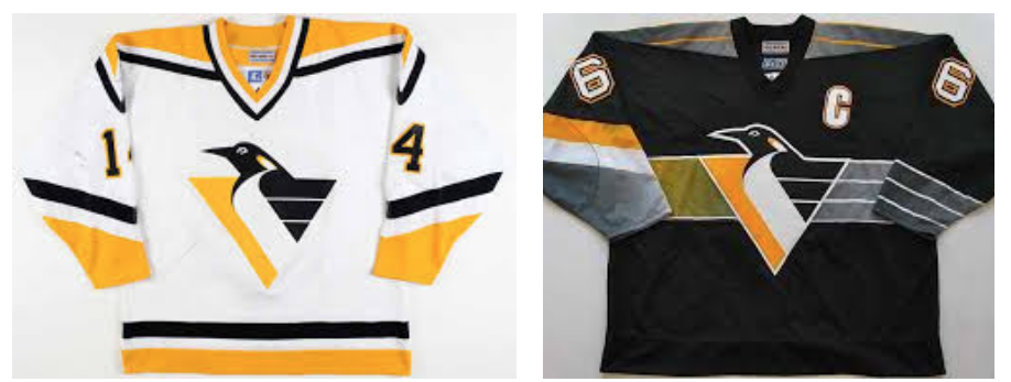The Penguins would use this duo with white at home and black on the road  for two full seasons before the next alternate uniform was introduced in  1999 which ... c71f6ab2e